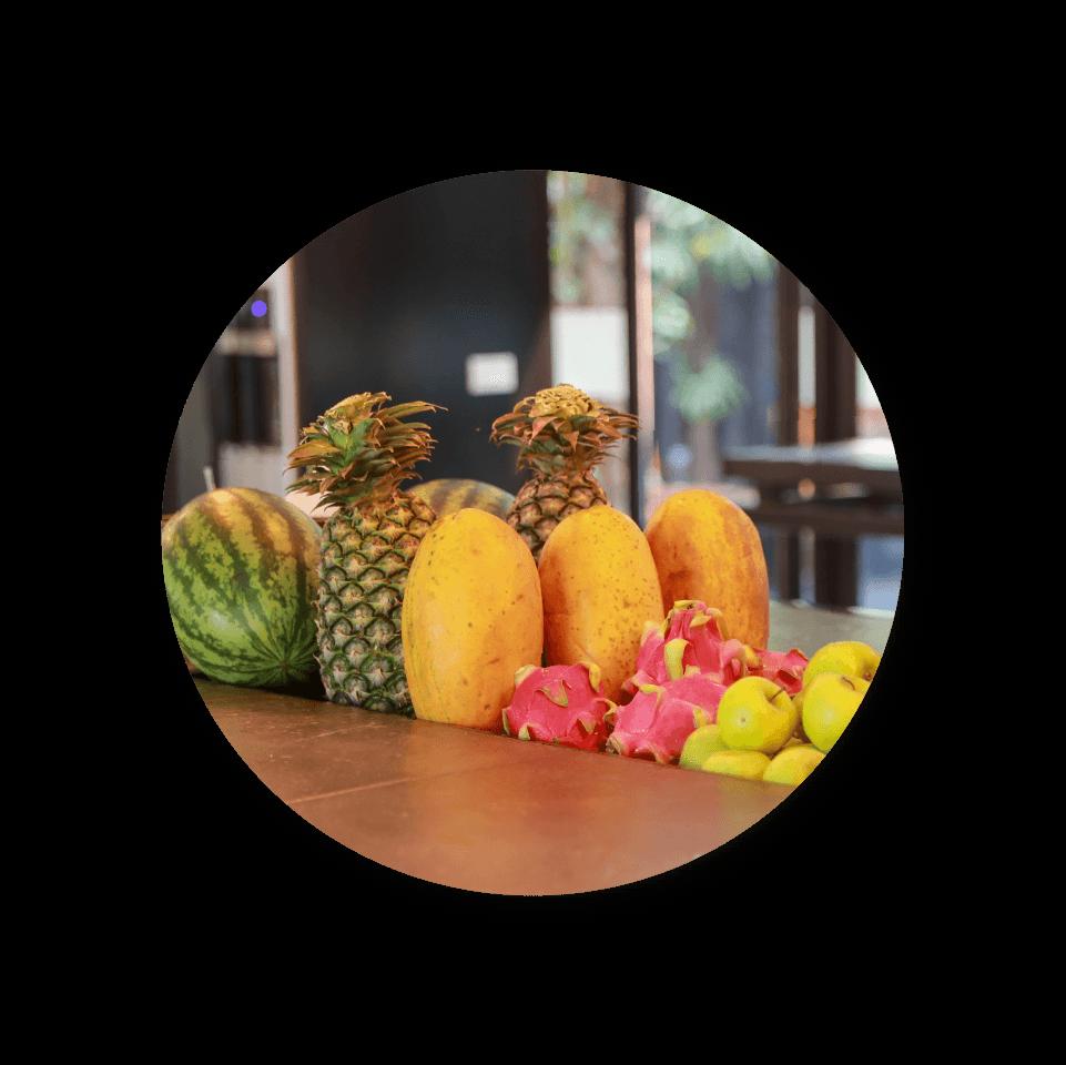 BED Hotels Seasonal Fruits