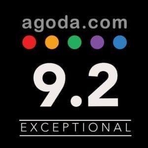 Agoda review score
