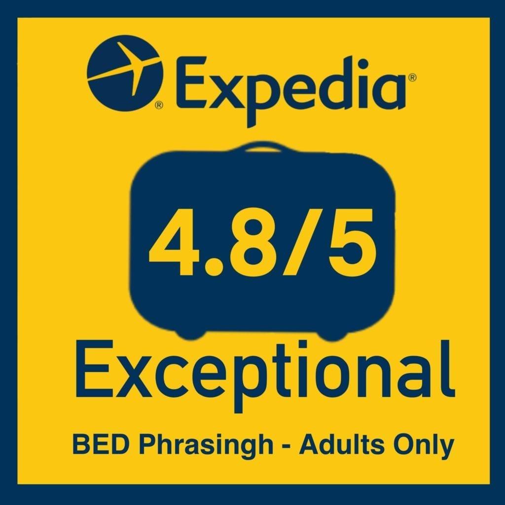 BED Phrasingh review score Expedia