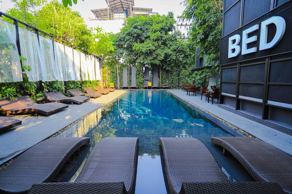 BED Nimman swimming pool