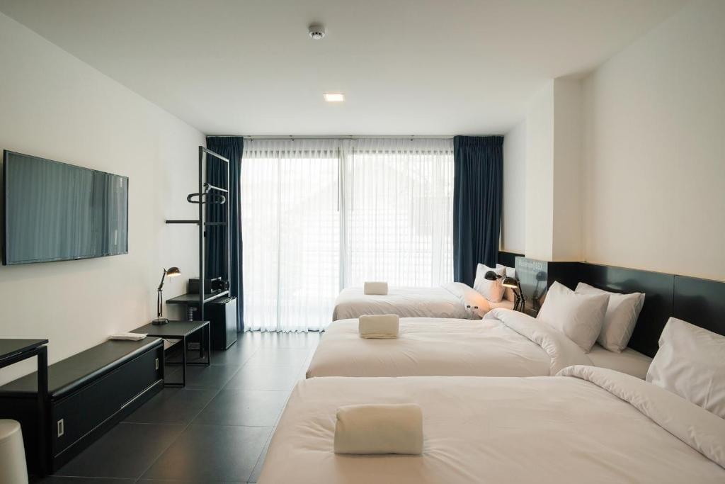 BED Chiangmai Gate triple room