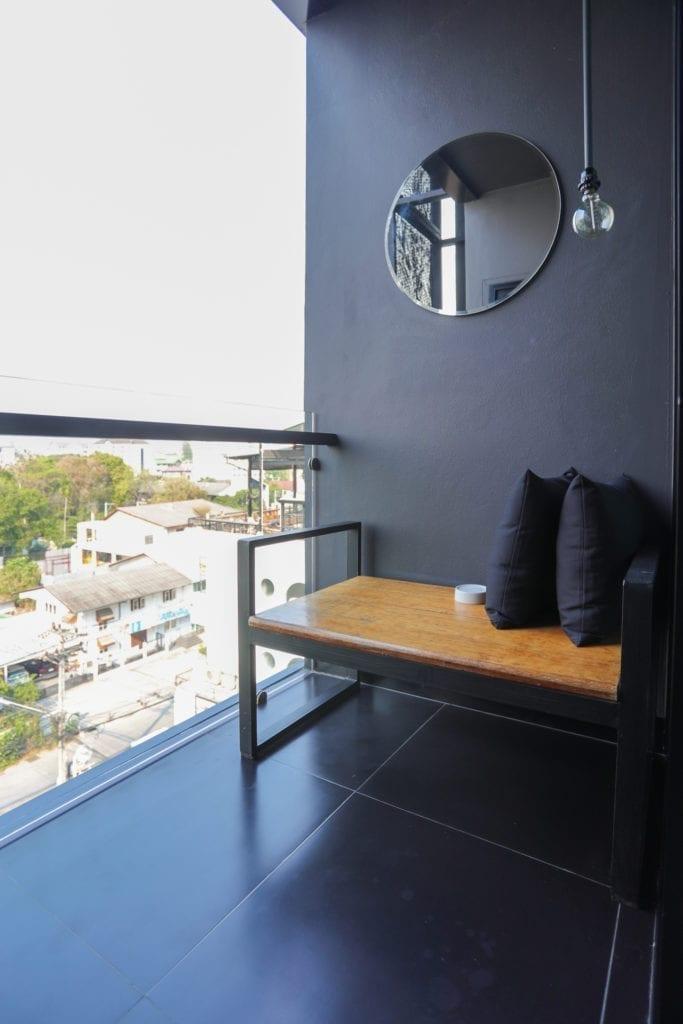 BED room balcony